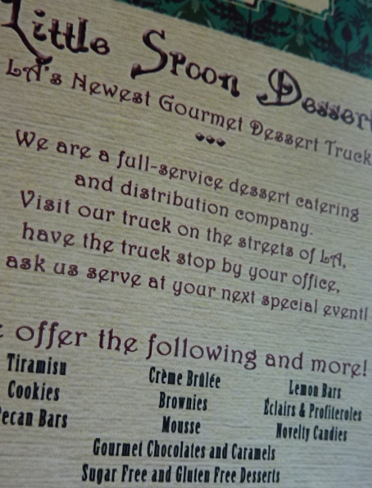 little spoon dessert truck 6