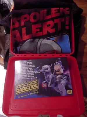 Family Guy Star Trek lunch box and t-shirt
