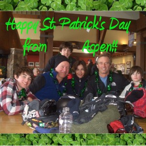 Robert-F-Kennedy-jr-wife-Mary-Richardson-Kennedy-John-Conor-Richardson Kennedy-Willian-Finbar-St-Patricks-Day2