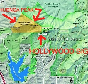 cahuenga peak parcel map