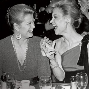 Lynn Wyatt & Grace Kelly - via Harpers Bazaar