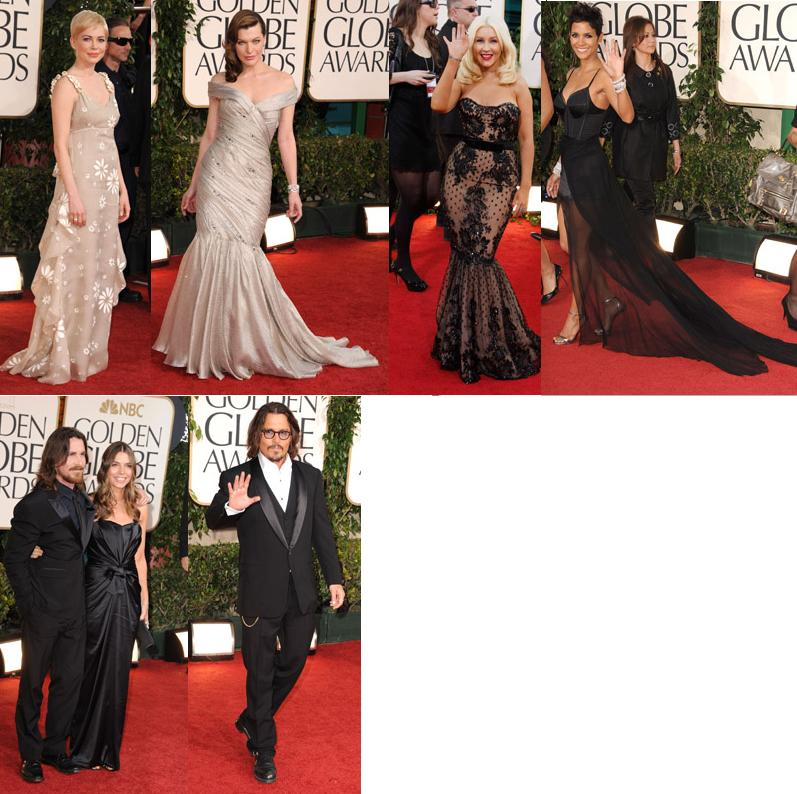 back to Best & Worst Dressed 2011 Golden Globes