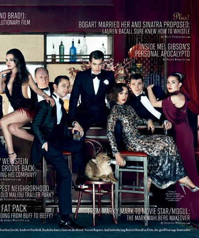 Sneak Peek: Vanity Fair Hollywood Issue 2011 COVER