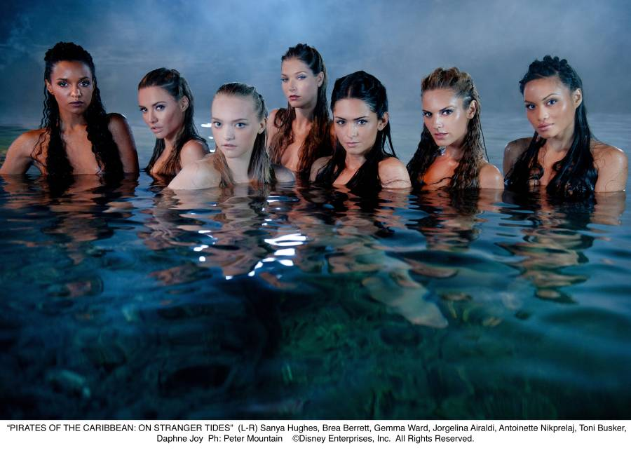 Mermaids From Pirates Of The Caribbean 4 The Daily Truffle La