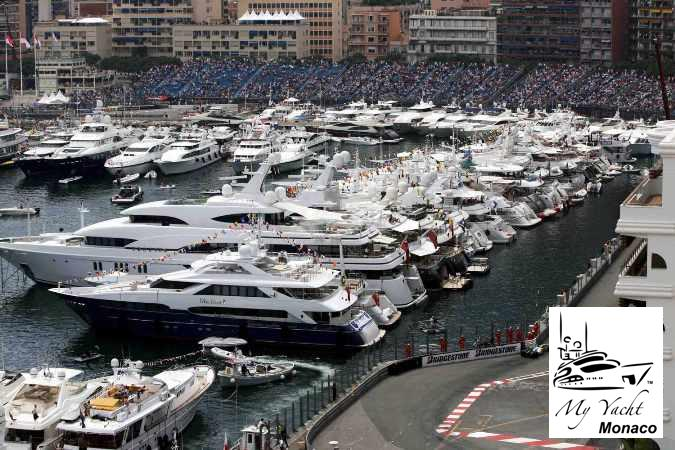 ... race-viewing yacht at the Formula One Monaco Grand Prix, May 27-29, ...
