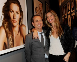 Photog Nino Munoz and model Gisele Bundchen