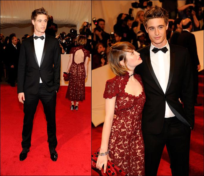 max irons burberry. Max Irons, Emily Browning