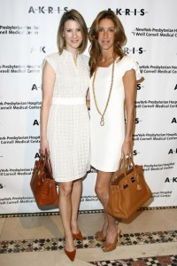 Lizzie Tisch and Dori Cooperman at the Akris Benefit fashion show and luncheon at the New York Presbyterian Hospital on May 14, 2009 in New York City. (Photo by Neilson Barnard/Getty Images)