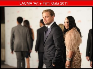 Leo DiCaprio & Eva Chow -- who co-chaired the LACMA Gala