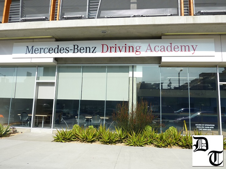 Mercedes benz driving academy los angeles 13 for Mercedes benz academy