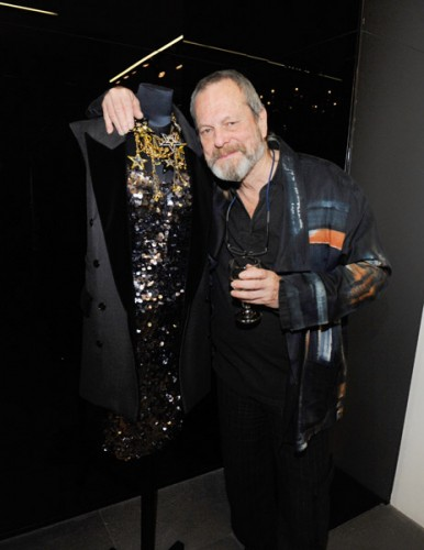 Terry Gilliam at Dolce & Gabbana's cocktail party for Terraferma on November 9, 2011 in Beverly Hills, California. (Photo by Amy Graves/WireImage)