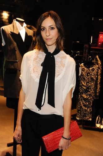 Gia Coppola at Dolce & Gabbana's cocktail party for Terraferma on November 9, 2011 in Beverly Hills, California. (Photo by Amy Graves/WireImage)