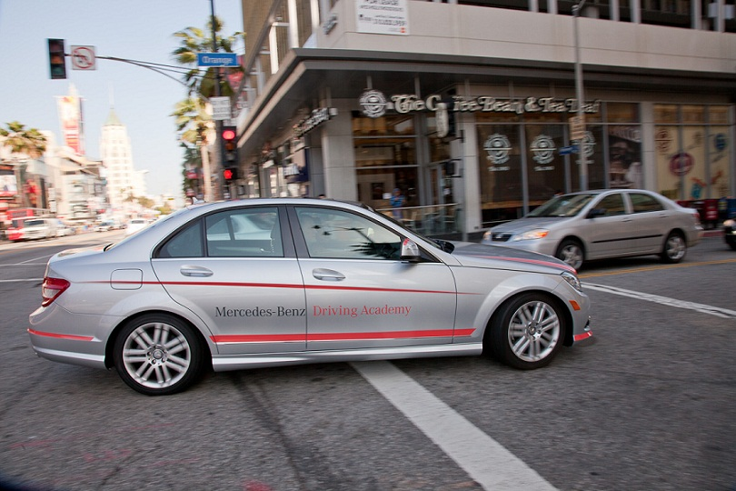 mercedes benz driving school teenagers los angeles 1