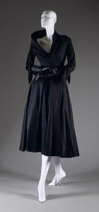 """Abandon"" afternoon dress, fall/winter 1948–49 Christian Dior"