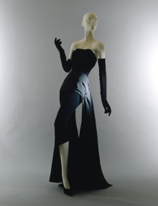 Dinner dress, fall/winter 1949–50