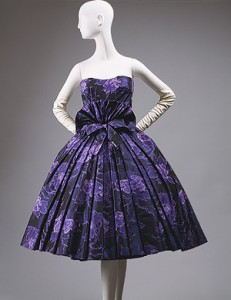 """Eventail"" cocktail dress, fall/winter 1956–57"