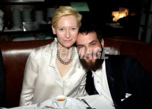 Tilda Swinton & Sandro Kopp at E. Baldi