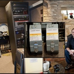 Bret Ratner's screening room - pic from WSJ