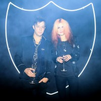 "Jamie Hince and Alison Mosshart of ""The Kills"""