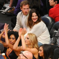Drew-Barrymore-Will-Kopelman-lakers-clippers