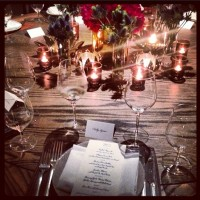 Dinner with Tiffany, literally. @tiffanyandco #tiffanyleather Kelly Agnew
