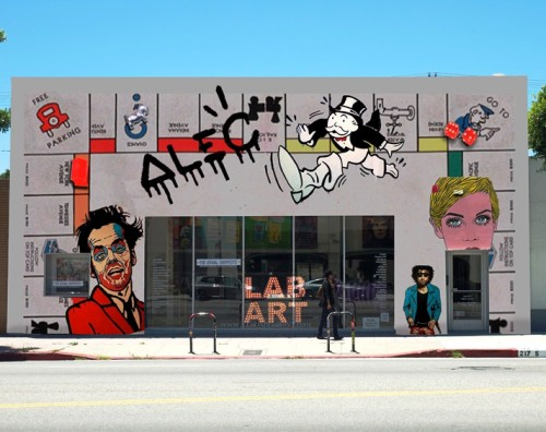 "ALEC Monopoly's ""PARK PLACE"" on March 14th at LAB ART on La Brea"