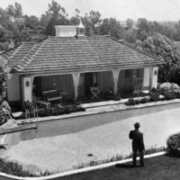 Bugsy Siegel's old house on Delfern Drive