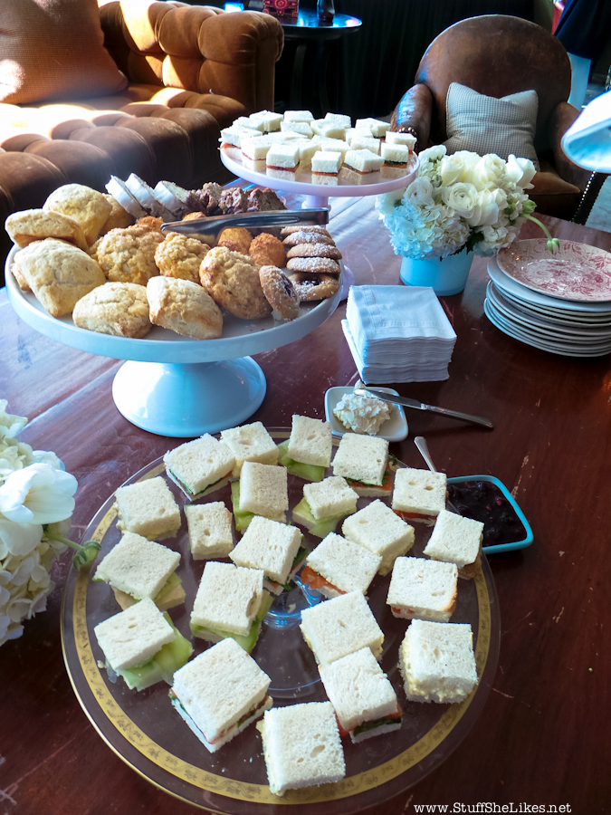 L.K. Bennett Spring / Summer 2013 Preview & Tea Party at Soho House In this pic: Photo credit: Taye Hansberry of StuffSheLikes.net
