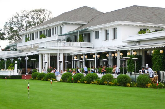The Clubhouse Of The Los Angeles Country Club On Wilshire Blvd