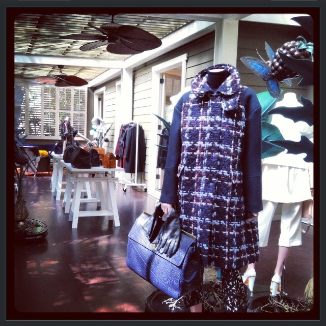 Mulberry Fall / Winter 2013 Preview at Chateau Marmont  In this pic: Inside Bungalow One  Photo credit: Lauren Brokaw