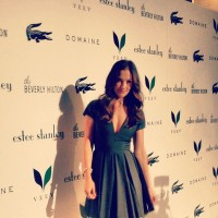 Minka Kelly (photo via @BeverlyHilton)
