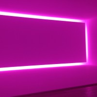 #JamesTurrell #retrospective Go see the Ganzfeld and stand inside of a Turrell @laurenpauline (photo via @justfree2)