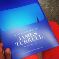 James Turrell exhibit dates