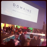 Launch of DomaineHome.com, from the ladies who brought you WhoWhatWear.com Minka Kelly (photo via @whowhatwear)