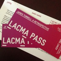Avant Garde passes for James Turrell (photo via @la_pulse)