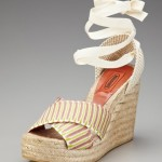 Missoni Ankle Tie Espadrille Sandal Original Retail: $324, GILT WAREHOUSE SALE PRICE: $35